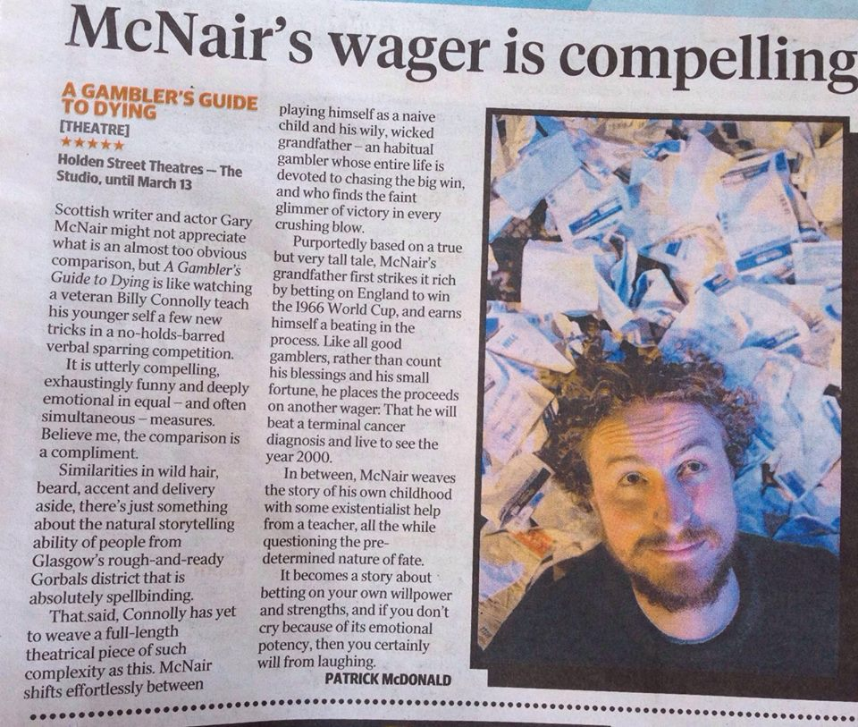 Adelaide Advertiser Review